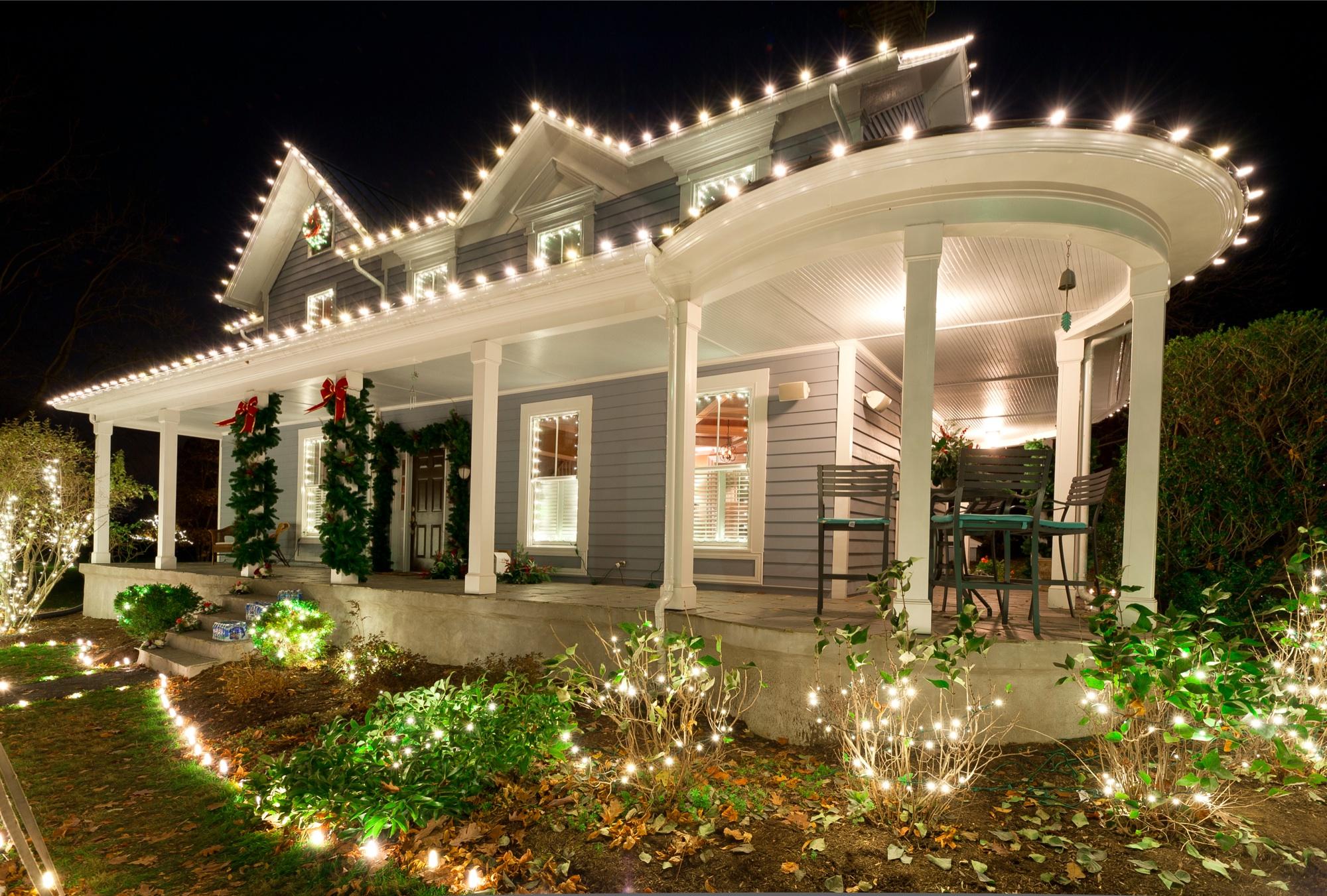 Decorative Light Installation in Round Hill, VA | Christmas Lights NOVA