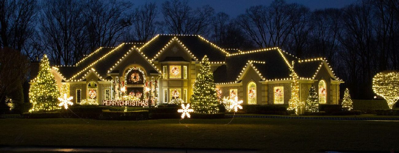Wonderful Christmas Decor By Manor Works Painting   Full Service Holiday Light  Decorating Servicing The DC Area